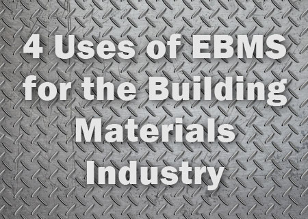 4 Uses of EBMS for the Building Materials Industry