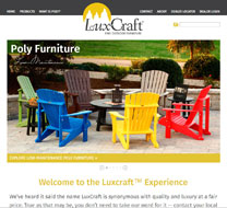 Ebms ecommerce clients - Luxcraft fine outdoor furniture ...