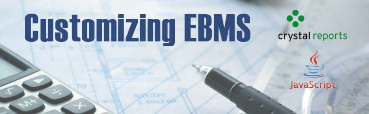 Customize the EBMS Software