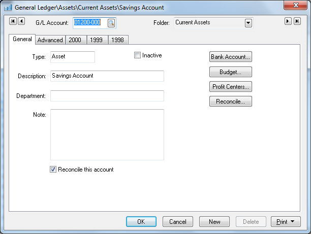 account reconciliation overview
