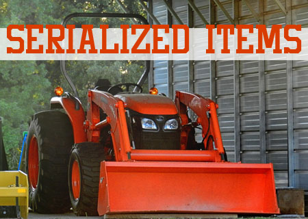 Serialized Items and Serialized Items Specifications