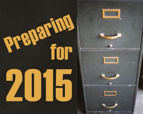 Out With the Old, In With the New: Preparing for 2015
